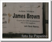 Manifesto funebre per James Brown