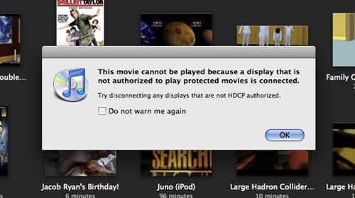 Apple HDCP